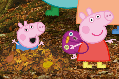 Children's television favourite Peppa Pig inspires families with her top 25 adventures to have around England