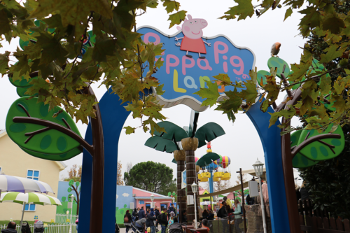 Peppa Pig Land at Gardaland, Lake Garda, Italy
