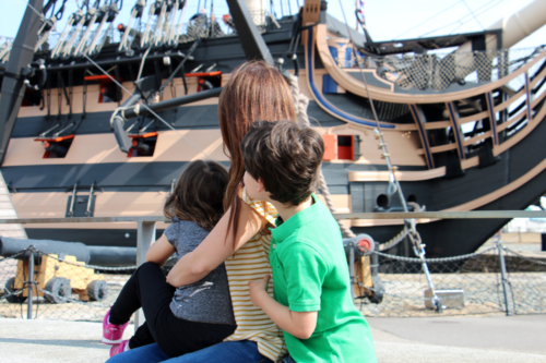 Portsmouth Historic Dockyard – we review HMS Victory and more with our children at this huge site