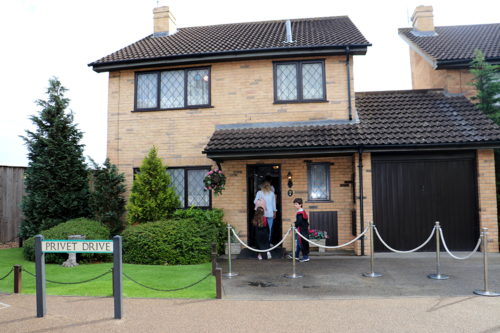 4 Privet Drive at the Harry Potter Studio Tour in London