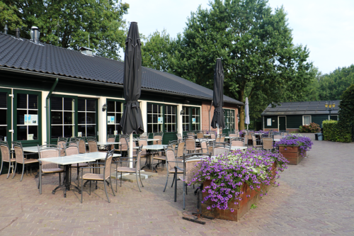 Restaurant cafe at Duinhoeve holiday park in Holland/The Netherlands