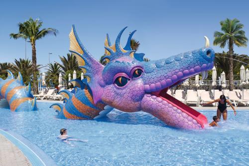 Children's pool at the Riu Gran Canaria hotel
