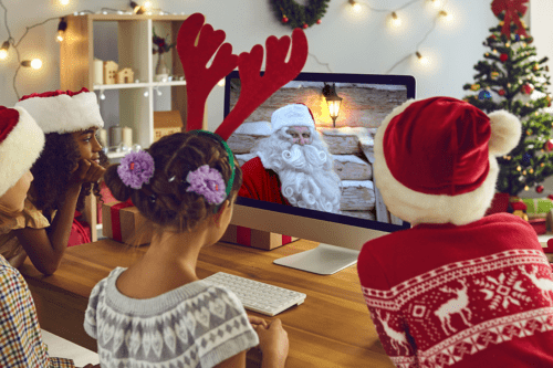 Santa Live video calls from Lapland