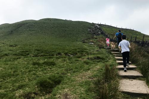 Climbing Shutlingsloe Hill - the MatterhornofCheshire