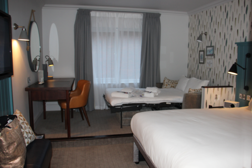 Our room at the Solent Hotel & Spa