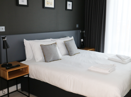 A bedroom at Staycity Aparthotel York