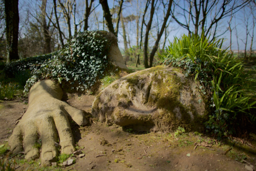 Tha Mud Maid at the Lost Gardens of Heligan