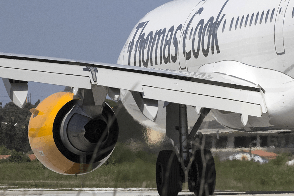 Thomas Cook goes bust and all its flights and holidays are cancelled