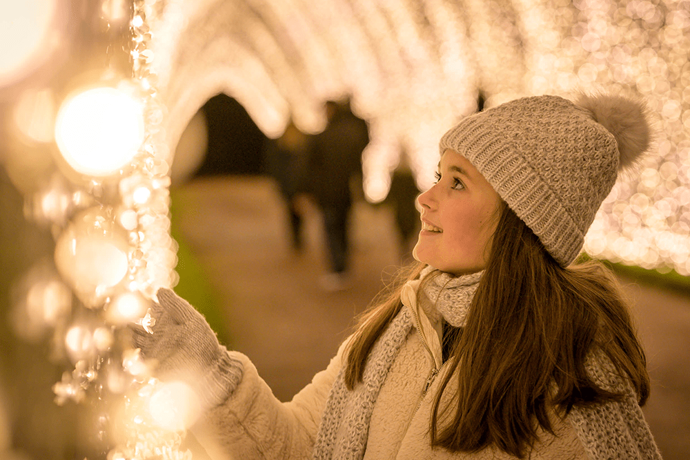 Illuminated trails light up famous sites around the UK for families this Christmas 2020