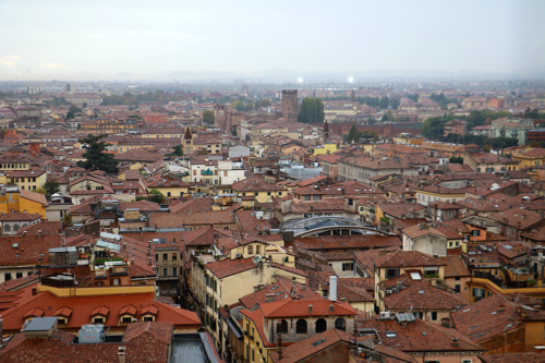 The view of Verona from Torre Dei Lamberti