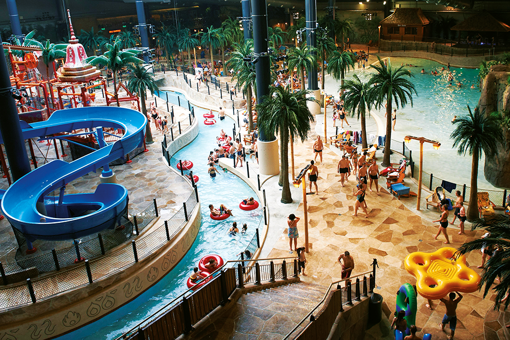 We review a water park holiday resort opposite LEGOLAND in Denmark called Lalandia Billund