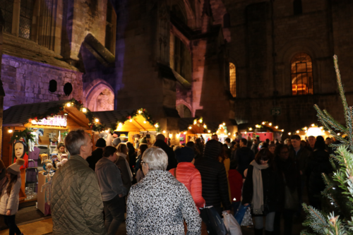 We visit the 'Christmas capital of England' whose festive market is hailed the best in Europe