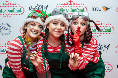 Families flock to Winter Funland 2019 in Manchester for a huge Christmas experience out of the cold