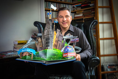 The 'World of David Walliams' is being created at a popular theme park