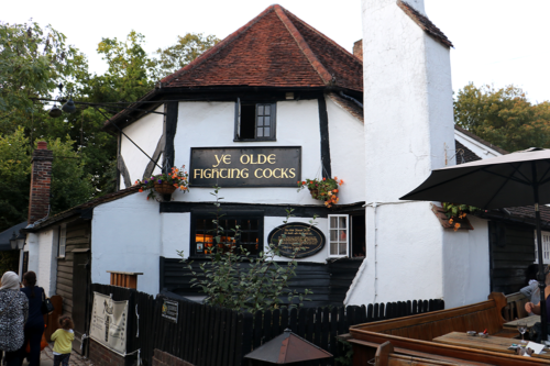 Ye Olde Fighting Cocks is officially Britain's oldest pub