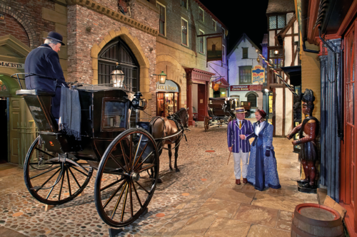 A Victorian Street at York Castle Museum