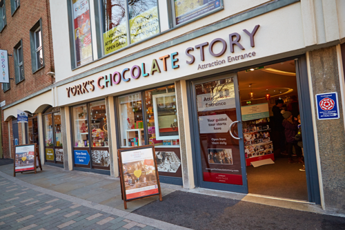 York's Chocolate Story exterior